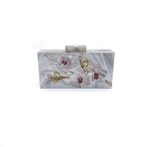 ZH-1907 ACRYLIC PERSONALIZED CLUTCH