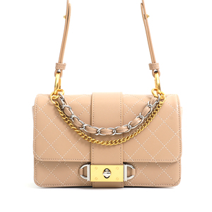 Handcee Shell Pink Leather Lady Handbag