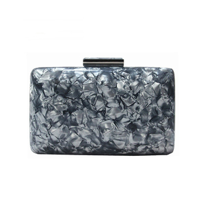 ZX-026 MARBLE ACRYLIC EVENING BAG