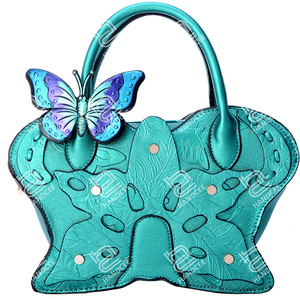 Handcee 2020 New Stereoscopic Butterfly Shoulder Bag Wholesale Handbags Made in China