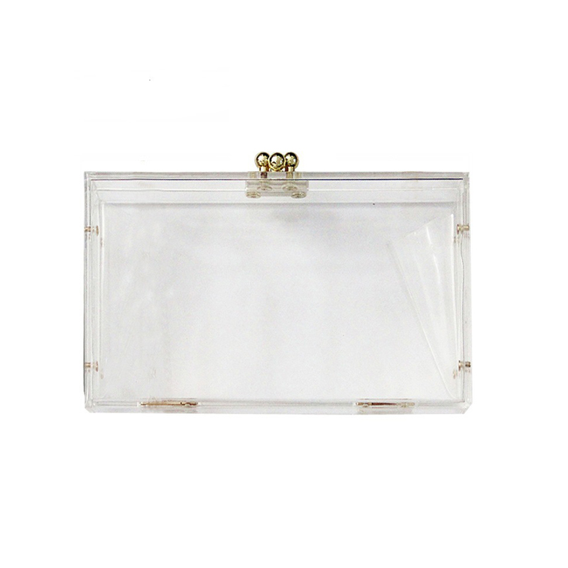 ZX-014 TRANSPARENCY ACRYLIC CLUTCH