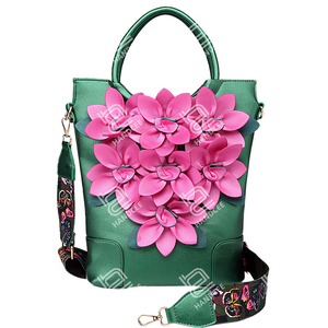 Handcee 2020 New Stereoscopic Flower Shoulder Lady Bag Luxary Designer Handbags
