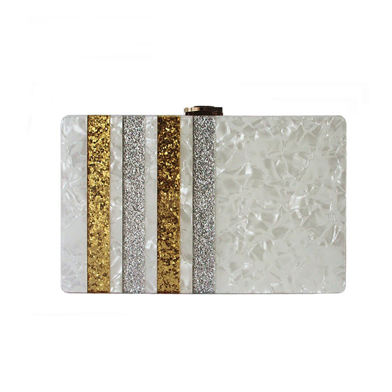ZX-050 ACRYLIC CLUTCH BAG