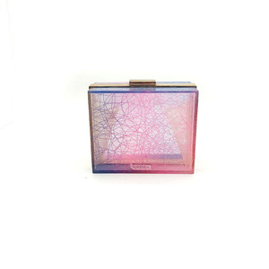 ZH-1917 ACRYLIC CLUTCH BAG WHOLESALE