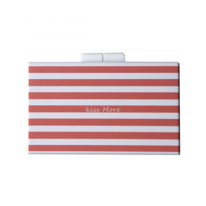 ZX-038 RED STRIPES ACRYLIC EVENING BAG