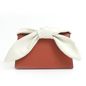 Handcee Rosette Red White Clutch Bag For Girl